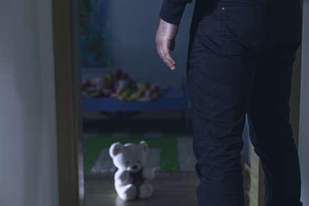 abuso sexual: Imagen de la violencia sexual en el hogar contra los ni�os