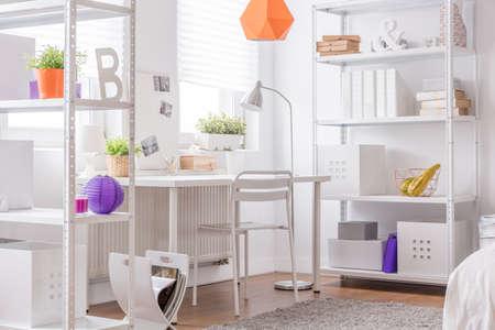 cosy: Image of cosy white design room interior