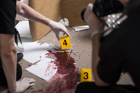mysteries: Police officers must be professional at the crime scene