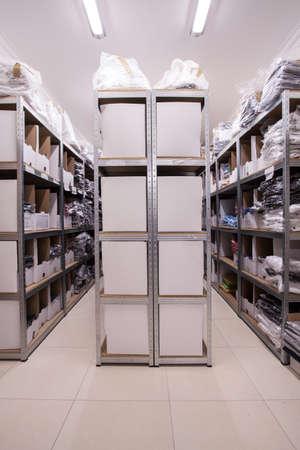 Huge store full of folders and documents Фото со стока