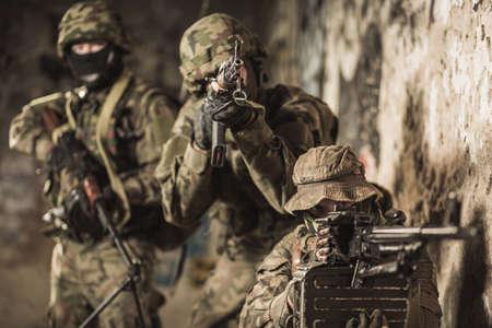 maneuver: Marines soldiers take part in military maneuver