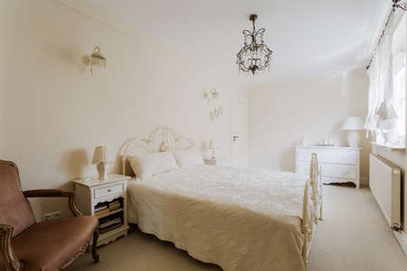 gorgeousness: Image of beautiful bedroom taken from designers magazine