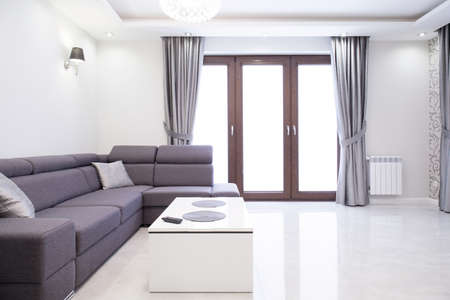 a detached living room: Exclusive sitting room in luxury detached house