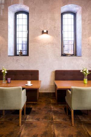 Foto del hermoso lugar perfecto para una cena romántica