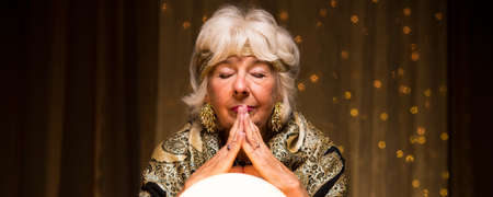 spiritualist: Old fortune teller is making money on witchcraft