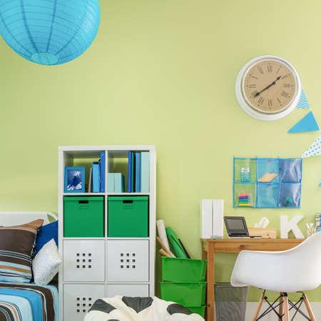 schoolchild: Image of functional cosy room interior for schoolchild