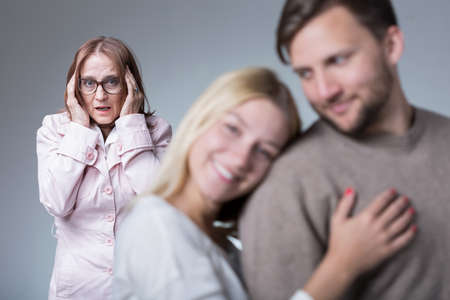 motherly love: Picture of toxic motherly love and oversensitive woman