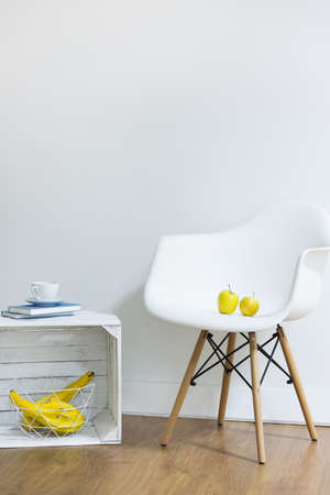 living style: Relaxing area in simple scandinavian style
