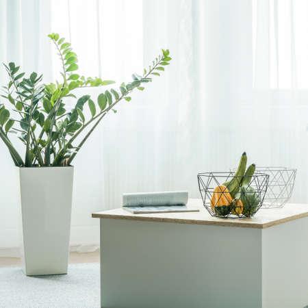 Zonnig en licht hoekje in de woonkamer