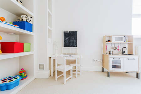 nook: Cozy nook for a child in the house Stock Photo