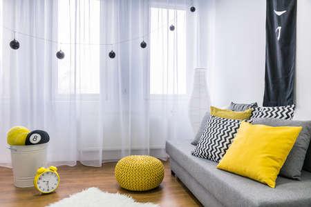 Interior of a modern living room Zdjęcie Seryjne