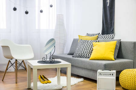 cosy: Shot of a modern decorated flat