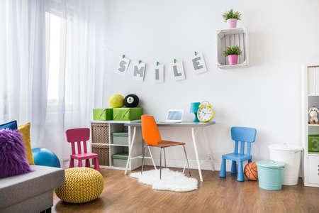 Bild eines modernen Kinderzimmer