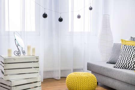 Stylish interior of a modern apartment