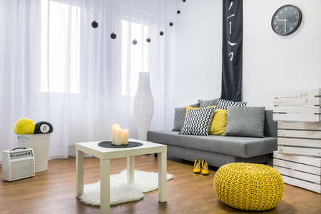cosy: Shot of a modern cosy room