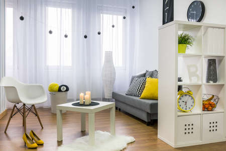 Plan d'un appartement moderne