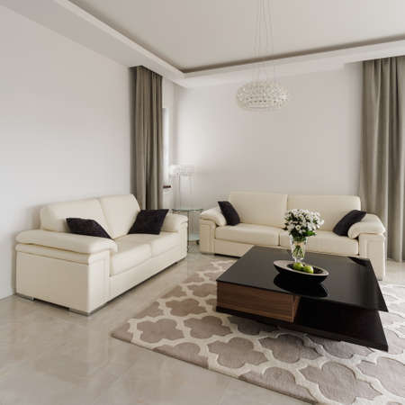 Interior of sitting room in luxury style
