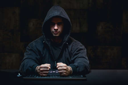 Young caught masked criminal hacking in computer