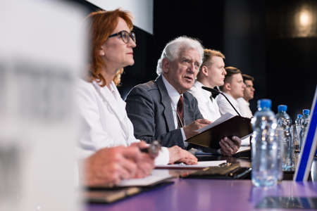 election debate: People of science during medical conference