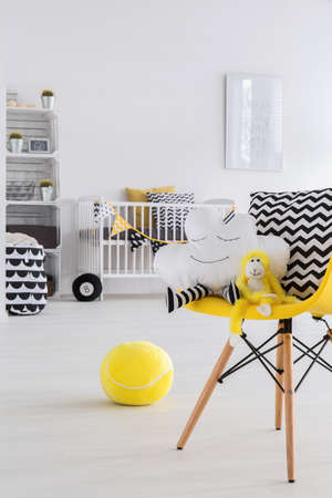contemporary interior: Picture of a modern baby room