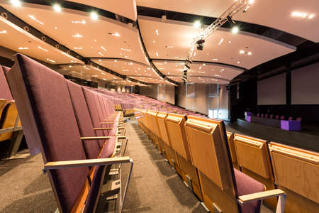 assembly hall: Shot of a new modern lecture hall