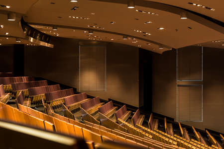 halls: Shot of a modern renovated lecture hall Stock Photo