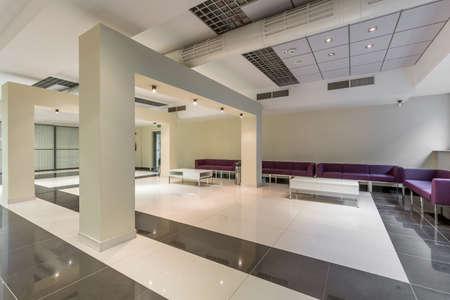 modern room: Shot of a stylish modern waiting room