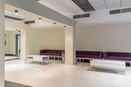 spacious: Shot of a modern spacious waiting room