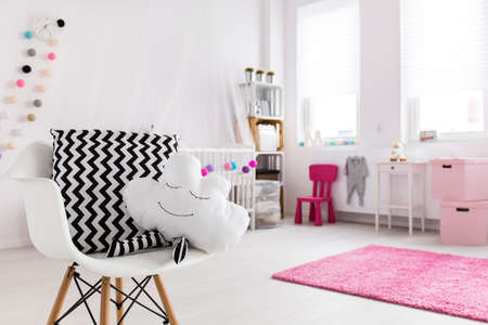 children play area: Shot of a spacious modern baby room