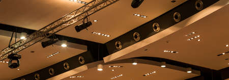new generation: New generation lights on lecture hall in modern university