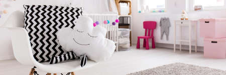 for children toys: Shot of a modern creative baby room