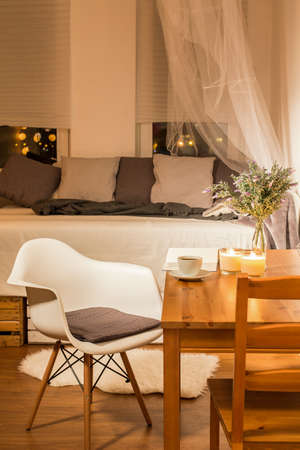 cosy: Shot of a small cosy living room