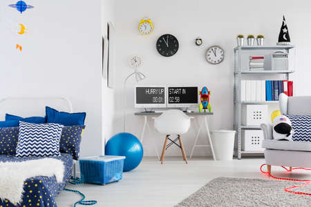 Shot of a modern creative space inspired room for children