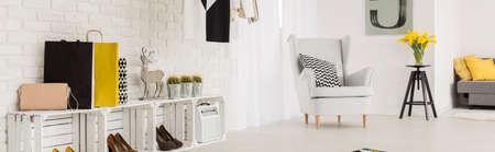 modern living: Shot of a cosy modern living room