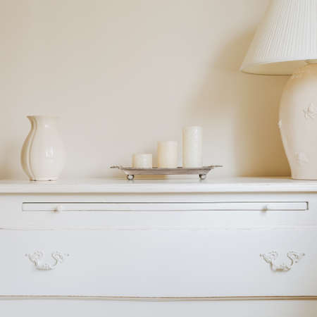 chest of drawers: Stylish chest of drawers in the bedroom