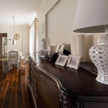 casa de campo: Imagen de la inter-francés diseñado en una gran villa