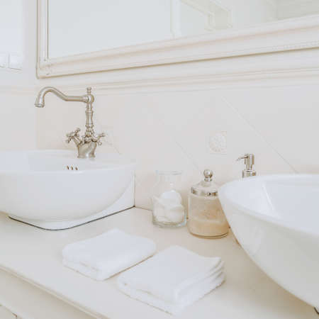 handbasin: Place in the storey house for the morning toilet