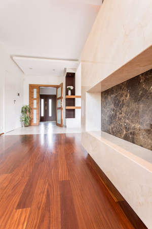 spacious: Shot of a spacious hall in a modern house