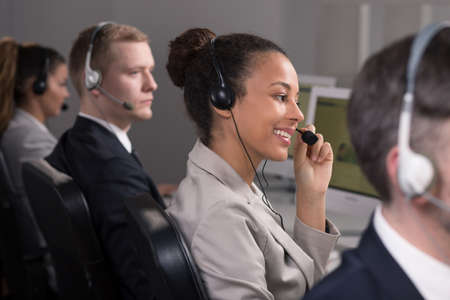 professionalist: Work of consultants in call center