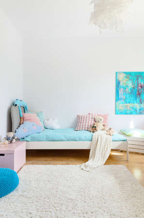 cosy: Shot of a spacious cosy childrens room Stock Photo