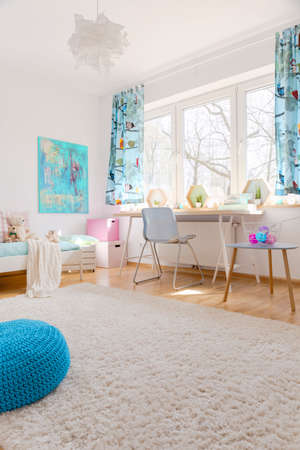 cosy: Shot of a cosy childrens room full of light Stock Photo