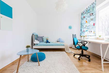 Schot van een ruime kamer gezellig kinderen