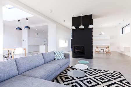 Photo d'un appartement moderne et spacieux