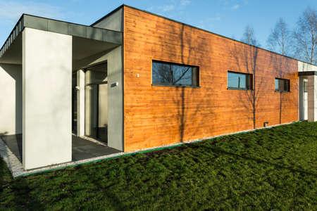 Shot of a modern house