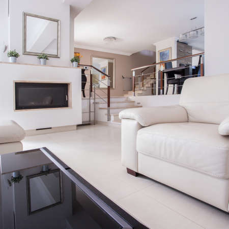 quality home: Image of a cozy living room in luxury villa