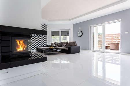soggiorno bianco moderno: soggiorno moderno archives non solo ... - Salone Moderno Con Camino