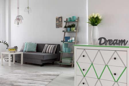 La feminidad en las ideas decoración en colores pastel de las habitaciones-moderno