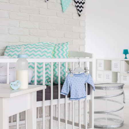 cosy: Image of a modern cosy baby room