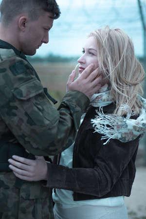 Us fernbeziehung soldat mit Beziehung mit