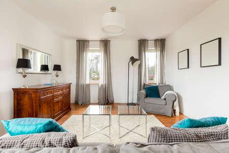 comfort room: Shot of a cozy modern living room